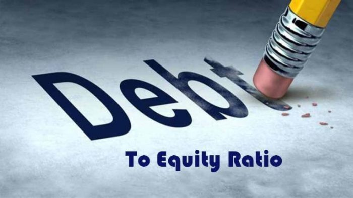 der DEBT TO EQUITY RATIO